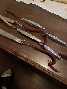 SEKORA, S&G, Hopkins  SALTWATER FISHING TROLLING LURES Lot Of 6