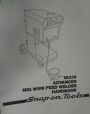 Centurysnap On Mig Welder Parts Amp Owners Manual Ya219