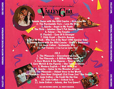 """VALLEY GIRL  """"Expanded Motion Picture Soundtrack""""  Two-Disc Set!  22 Tracks!"""