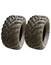 2 Quad tyres 25x11-12 6ply Wanda ATV tyre E marked road legal extra wide offroad