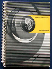 Owner's Manual  Betriebsanleitung Drivers Manual Porsche Type 356 B    (USA)