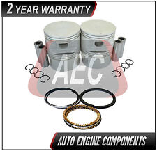 Piston & Ring Kits Fits Pontiac Sunfire Gran-Am 2.4 L QUAD4 DOHC - SIZE STD