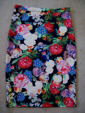 Straight, Pencil Unbranded Knee-Length Floral Skirts for Women