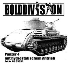 BoldDivision 1:35 BD35054 Panzer 4 hydrostatic drive tank conversion