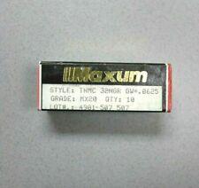 Maxum Tnmc 32ngr Grooving Carbide Inserts Grade Mx20 Lot Of 10 New Usa