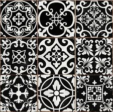 Stick On Wall Tile Mosaic Style Moroccan Victorian Retro Self Adhesive Transfers