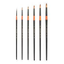 HWAHONG Artist watercolor Paint Brush700R, Round Brush_set of 6 brushes