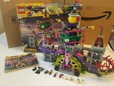 LEGO Batman 70922 The Joker Manor Roller Coaster Excellent Condition 100% Comp