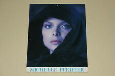 LADYHAWKE - Michelle Pfeiffer large two-sided color promo card photos VERY RARE