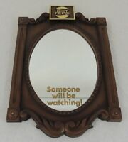 "Vintage Diet Pepsi ""Someone Will Be Watching"" Hanging Mirror"