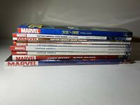 Marvel TPB Hardcover Graphic Novel Lot Of 9 Captain America Secret Empire Rogers