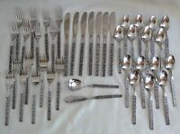 Stanley Roberts Korea Dorette Stainless Steel Flatware 40pc. Set