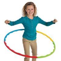 10 X Hula Hoop Ajustable Colocación Adulto Niño Ejercicio Aeróbic Juguetes 8025B