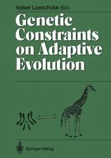 Genetic Constraints on Adaptive Evolution (2011, Paperback)