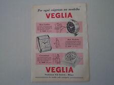 advertising Pubblicità 1958 SVEGLIA VEGLIA BORLETTI CADILLAC/WYDESTA/CONTAMINUTI