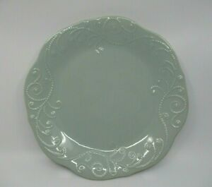 """LENOX FRENCH PERLE ICE BLUE DINNER PLATE - 11"""" -0701J"""