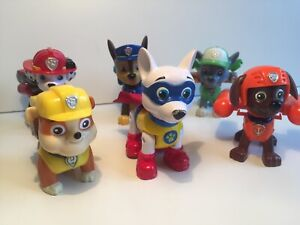 🐾 PAW PATROL 🐾 SPIN MASTER ACTION FIGURE TOY: ACTION PUP JOB LOT INC SUPER PUP