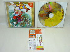 Dreamcast POWER STONE 1 with SPINE CARD * Sega Capcom Import Japan Game dc