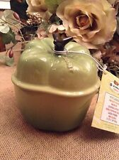 Le Creuset Green Pepper 12 Oz Cocette NWT Great For Cooking French Onion Soup!