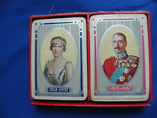 Old double deck of Playing Cards from Denmark. Jubilaeums Bridge from 1937