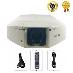 Epson Z8050W 3LCD Projector WXGA Large Venue 7000 ANSI HD 1080p HDMI bundle