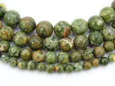 Natural Rhyolite Kambaba Jasper Gemstone Round Beads 15.5'' 6mm 8mm 10mm 12mm