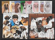 Cats Dominican Stamps (1967-Now)