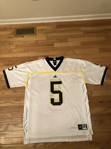 Michigan Wolverines NCAA Adidas Men's Football Jersey Size XL