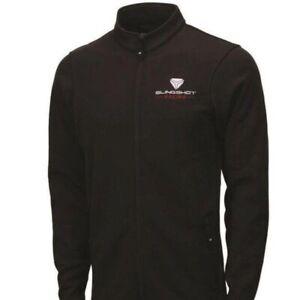 Men's Full Zip Riders Jacket Slingshot Racing Logo Size XL