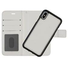 iPhone X Leather Wallet Case 2 in 1 (White) | 2-Piece by Beachhead