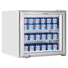 Tefcold UF50G Glass Door White Display Freezer (boxed New)