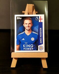 2018/2019 Topps (Merlin) Premier League - James Maddison ROOKIE - Leicester #182