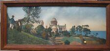 tableau image panoramique, souvenir d'Alger, notre Dame d'Afrique