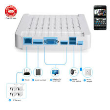 8CH HD 1080P NVR Network Digital Video Recorder for IP System Camera Iphone View