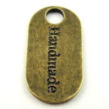 09651 Antique Bronze Tone Alloy Look Handmade Pendant Jewelry Finding 50pcs