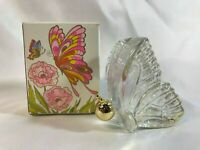 Avon Vintage Butterfly Decanter (Empty) Unforgettable Cologne Orig. Box