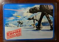 1980 Star Wars The Empire Strikes Back - Antique  Postcard AT-AT Walkers PEW PEW