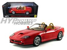 HOT WHEELS 1:18 ELITE FERRARI 550 BARCHETTA DIE-CAST RED N2054