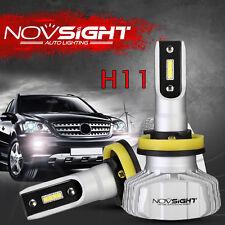 NOVSIGHT Upgrade H11 H8 H9 H16(JP) 10000LM Seoul LED Headlights Kit Bulbs 6500K
