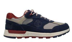 """Timberland Men's """"Field Trekker Low Hiker""""  Navy Shoes Multiple Size NIB"""