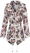 Women's Floral Hip Length Trench Coats, Macs Coats & Jackets