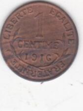 1 CENTIME DANIEL DUPUIS  1916
