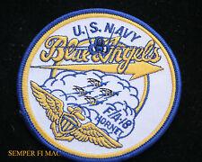 US NAVY MARINES BLUE ANGELS F-18 F/A18 HORNET PATCH USS NAS PENSACOLA MCAS PILOT