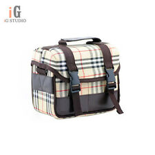 Camera Bag Canvas Shoulder Bags Carry Case for Canon Nikon Pentax Sony Lens