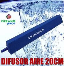 PIEDRA DIFUSOR 20CM Aire Oxigenador CO2 COMPRESOR ACUARIO OXIGENO difusora