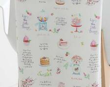 Dessert Candy Macaroon Muffin Patterned Fabric made in Korea By the Yard