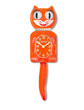 PUMPKIN DELIGHT LADY KIT-CAT CLOCK KAT KLOCK NEW FOR 2017 LIMITED EDITION