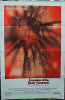 INVASION OF THE BODY SNATCHERS MOVIE POSTER Original Folded 27x41 Final Style