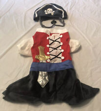 Small Dog Pirate Costume Halloween