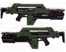 3D Aliens M41-A Pulse 1:1 Paper Model Assault Cosplay Fun  DIY Kids Toy